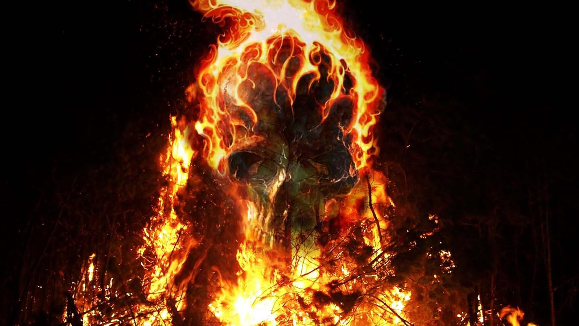 Землю в огне картинки на телефон